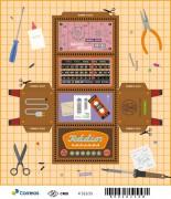 Correios lança selos sobre rádios antigos que viram paper toy