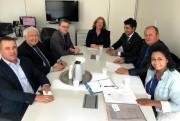 Nova sede e melhorias na saúde pautam reuniões em Brasília