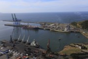 Porto de Imbituba recebe navio vindo da Ásia