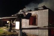 Incêndio deixa residência destruida em Lagoa dos Esteves