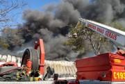 Incêndio na Ceasa-Minas pode ter comprometido estrutura