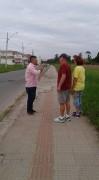 Vereador Itamar da Silva cobra melhorias na Calçada Beira Trilho