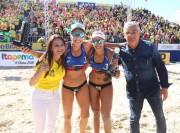 Moreira acompanha etapa do mundial de vôlei com dobradinha de ouro para o Brasil