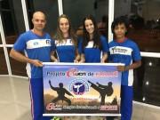Carateca de Içara garante vaga na Seleção Brasileira