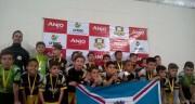 Equipe do PV fica com o vice no Festival Anjos do Futsal