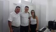 Vereador Laudo Calegari visita a Farmácia Municipal
