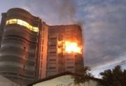 Laudo aponta causa de incêndio em edifício em Tubarão