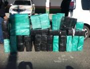 Mais de 400kg de maconha são apreendidos em Lauro Müller