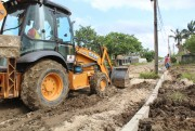 Cinco ruas estão sendo pavimentadas em Maracajá