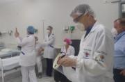 UFSC/Araranguá entrega máscaras faciais aos profissionais do Cemasas