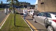 Maracajá instala barreiras sanitárias para conscientizar população