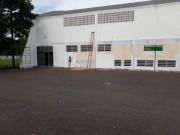 Pintura do ginásio de de Maracajá fica pronta até fim do mês