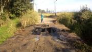 Ponte nos limites de Maracajá e Araranguá foi incendiada
