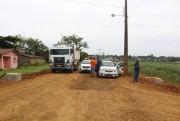 Moradores fazem protesto e impedem tráfego de caminhões em Maracajá