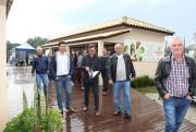 Vereadores e produtores de maracajá visitam feira da Coopafi