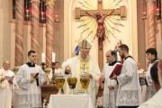 Paróquia Nossa Senhora Mãe dos Homens acolhe Missa do Crisma