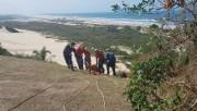 Içarense fica ferida ao cair de rampa de voo livre em Morro dos Conventoso