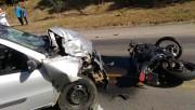 Motociclista morre após colisão frontal na SC-108