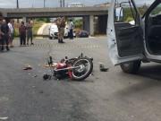 Motociclista morre em acidente na Via Rápida em construção