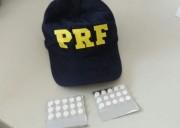 Motorista é detido com 30 comprimidos de rebites na BR-101