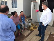 Durante isolamento social Murialdo e Serafin visitam moradores do Dona Ema