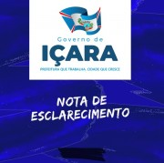 Governo Municipal de Içara emite nota de esclarecimento