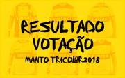 Resultado da votação do Manto Tricolor 2018