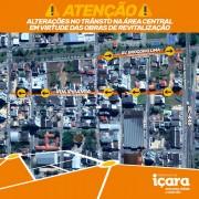 Trânsito de Içara terá alterações a partir de segunda-feira
