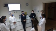Orações mudam a rotina dos colaboradores no HSJosé durante a pandemia