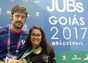 Kathiê fica em segundo lugar geral no Jubs em Goiânia