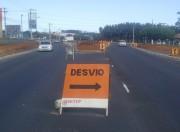 Trevo de acesso entre SC-445 e Lino Zanolli está quase pronto