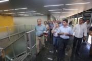 Moreira visita novas instalações da Prefeitura de Criciúma