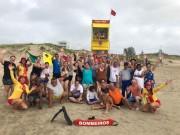 Alunos da Apae participam da Praia Acessível em Rincão