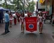 Festa de Criciuma conta com a fanfarra da Escola Quintino