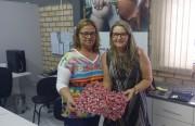 Zulmara e Lourdes estão com projeto junto com os clubes de mães