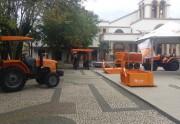 Budny expõe equipamentos agrícolas no Centro de Içara