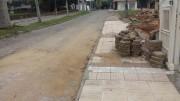 Secretaria de Obras programa a recolocação de lajotas