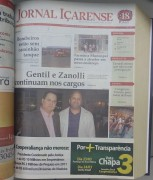 Jornal Içarense registra 23 anos de história em Içara