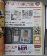 Jornal Içarense registra os 23 anos de história em Içara
