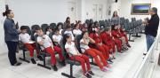 Alunos da Escola São Rafael visitam Legislativo
