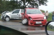 Dois acidentes na SC-445 no fim de semana em Içara