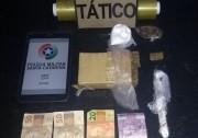 Suspeito de tráfico é detido em Balneário Rincão