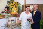 Bodas de Ouro do casal Jurandir e Iedê