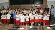 Estudantes visitam o Legislativo de Içara