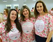 Rede Feminina de Içara realiza  nova edição do Chá Cor de Rosa