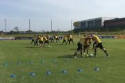 Grupo realiza atividade intensa no Centro de Treinamento