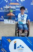 João Paulo garante índice para final de circuito nacional de natação