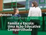 O papel da escola e da família na educação é discutido em palestra