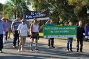 Rodovia SC-445 terá nova manifestação em outubro