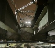 Realizada penúltima etapa de transferência de carga da Ponte Hercílio Luz